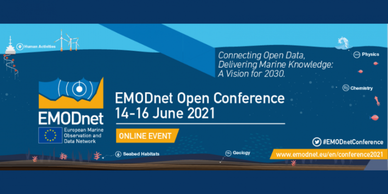 Nautilos at the EMODnet Open Conference And Jamboree 2021