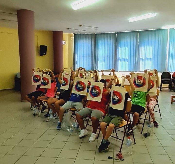 Nautilos Citizen Science Activities in primary schools in Crete