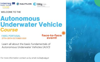 Nautilos supports the organisation of Autonomous Underwater Vehicle Course
